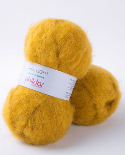 Phildar Phil light Miel 15 - 1019 - geel oker