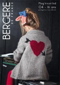 Patroonboek Bergere magazine 163 - 4  t/m 16 jaar (op=op)