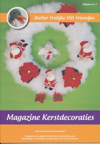 Magazine nr 7 kerstdecoraties