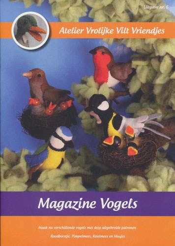 Magazine nr 6 vogels