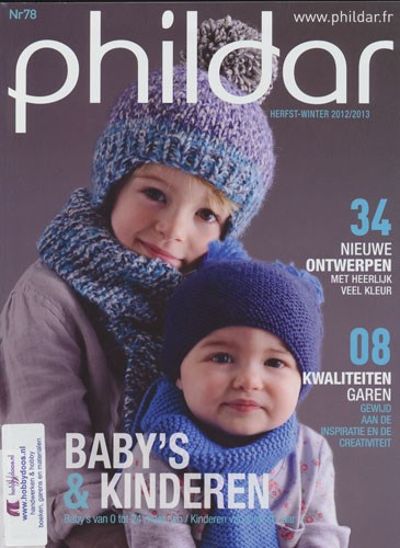 Phildar nr 78 Herfst en winter 2012-2013 Baby en kinderen