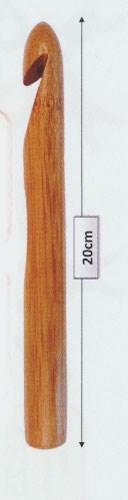 Haaknaald nr 10 hout