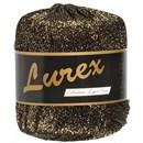 Lurex 16 goud zwart
