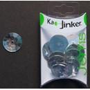 Ka-Jinker jems - facet rond - helder