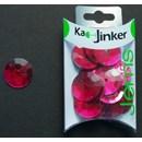 Ka-Jinker jems - facet rond - fuchsia