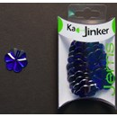 Ka-Jinker jems - facet fower - blue