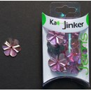 Ka-Jinker jems - facet flower - light pink