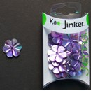 Ka-Jinker jems - facet flower - light purple