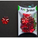 Ka-Jinker jems - facet flower - red