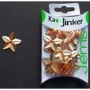 Ka-Jinker jems - facet star - orange