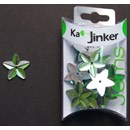 Ka-Jinker jems - facet star - light green