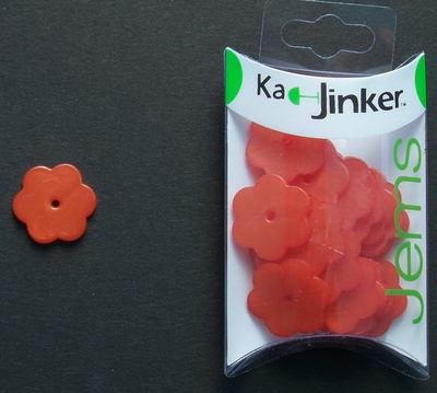 Ka-Jinker jems - Parel bloem groot - red