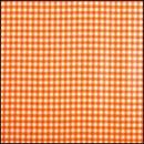 Lint 15 mm ruit oranje - wit (per meter)