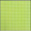Lint 10 mm ruit groen - wit (per meter)