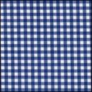 Lint 10 mm ruit blauw - wit (per meter)