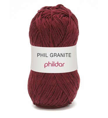 Phildar phil granite 0004 poupre op=op