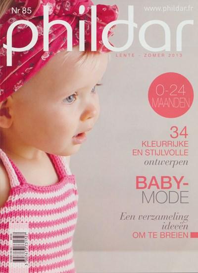 Phildar nr 85 - lente zomer 2013 babymode