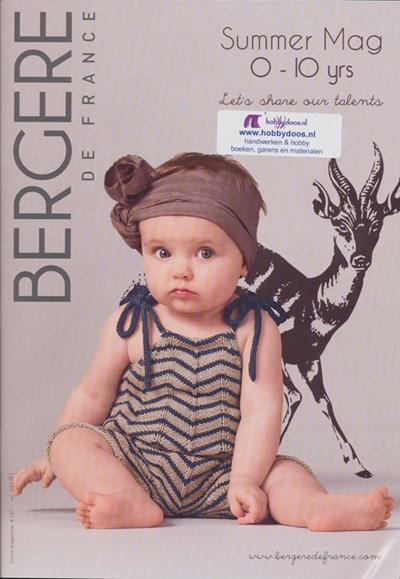 Bergere de France magazine 167 - lente zomer 2013 kinderen 0-10 jaar op=op