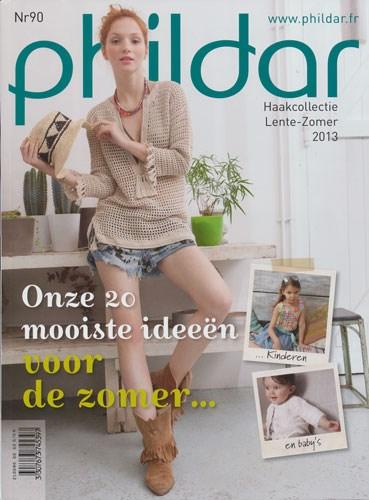 Phildar nr 90 - haakcollectie lente zomer 2013