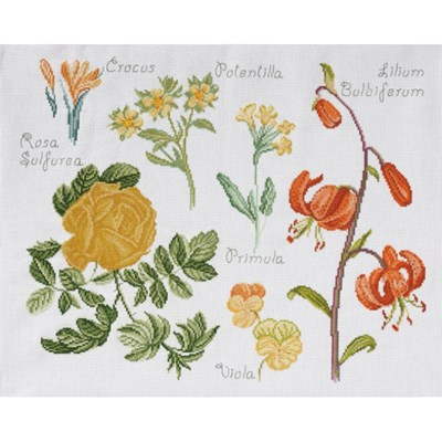 DMC No 2 14561c fleur & botanique - lys et crocus