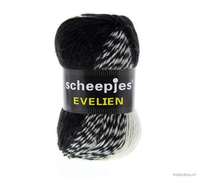 Scheepjes Evelien 001 ecru - zwart