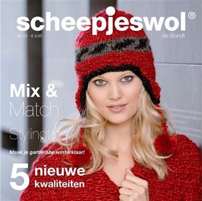 Scheepjeswol magazine nr 50 mix en match op=op