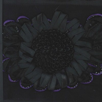 band 171257 bloem - paarse rand 17 cm