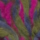 Witte engel - Regenboogwol 203  groen blauw pink