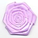 bloem satijn 60 mm - lila (1 stuks)(op=op)