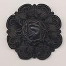 bloem koord 60 mm - zwart (1 stuks)(op=op)