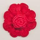 bloem koord 60 mm - rood (1 stuks)(op=op)