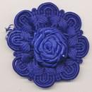 bloem koord 60 mm - kobalt blauw (1 stuks)(op=op)