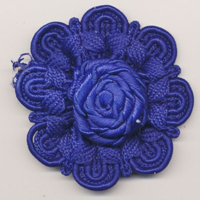 bloem koord 60 mm - kobalt blauw 1 stuks op=op