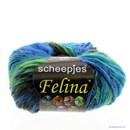 Scheepjes Felina 1 groen blauw