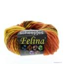 Scheepjes Felina 2 oranje bruin