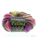 Scheepjes Felina 4 geel roze
