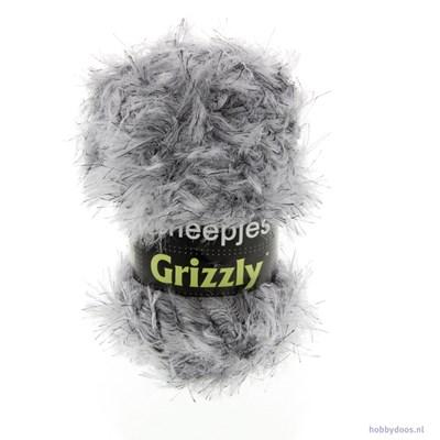 Scheepjes Grizzly 02 zilver grijs op=op