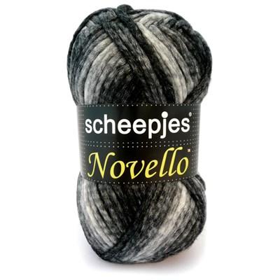 Scheepjes Novello 1 grijs gemeleerd op=op