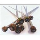 Breinaalden met knop nr 9 (40 cm) - metaal knitpro