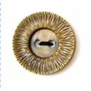 Knoop 35 mm goud - 2558 (op=op)