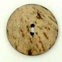 Knoop 45 mm kokos rond - 254270