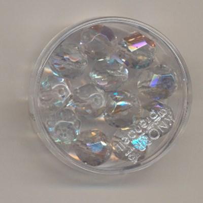Kralen facet crystal 10 mm op=op