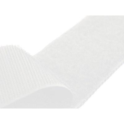 Klittenband zelfklevend wit 2 cm per 50 cm