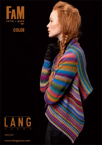 Lang Yarns magazine 201 color