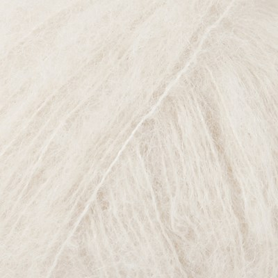 DROPS Brushed Alpaca Silk 01 naturel