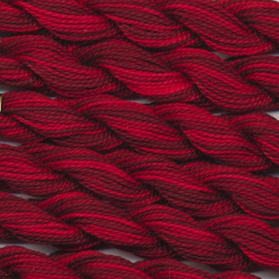 DMC cotton perle 5 - 0115 rood - donker rood