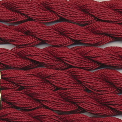 DMC cotton perle 5 - 221 Mars red