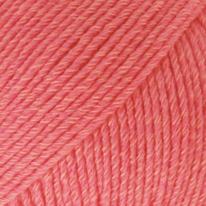 DROPS Cotton merino 13 koraal