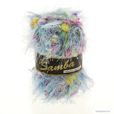 Lammy Yarns - Samba 0011 licht blauw