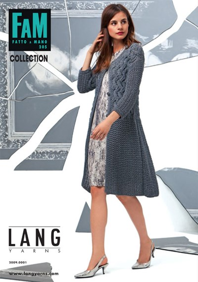 Lang Yarns magazine 205